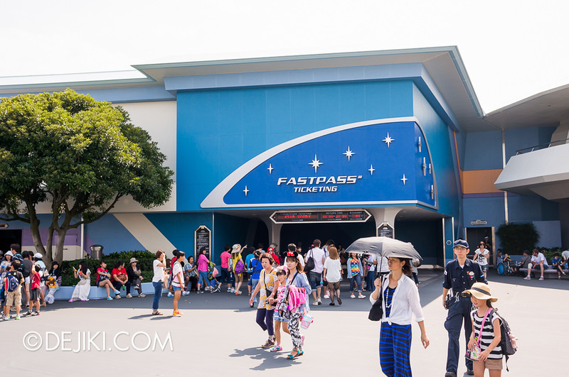 Star Tours: The Adventures Continue / Fastpass Ticketing
