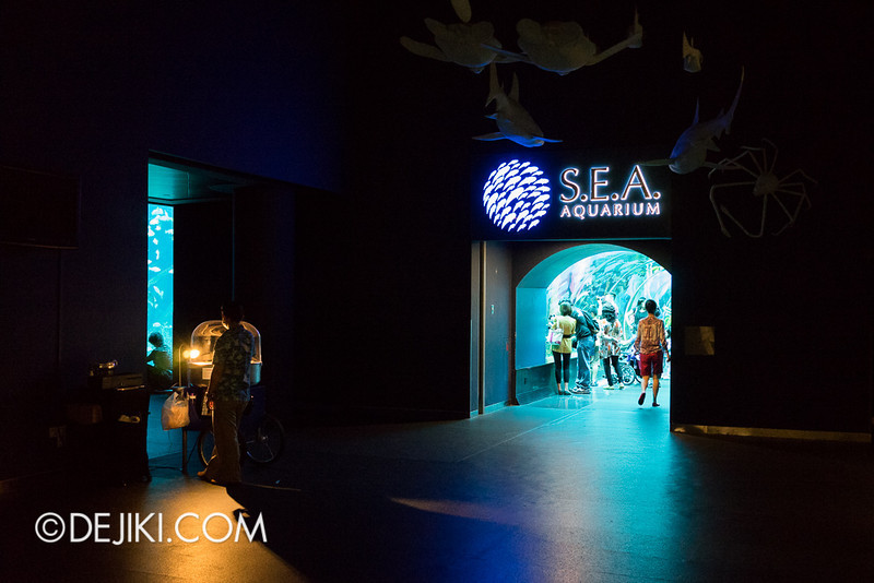 SEA Aquarium - Modified entrance 4