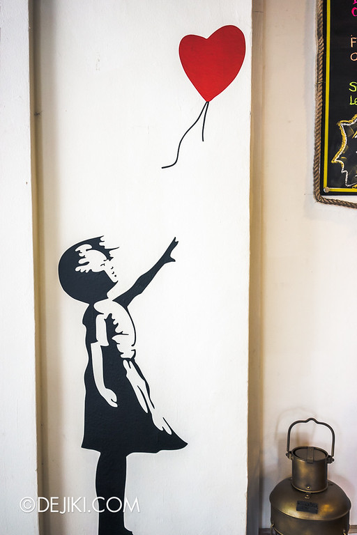 Yellow Cup Coffee 12 - Banksy Inspired