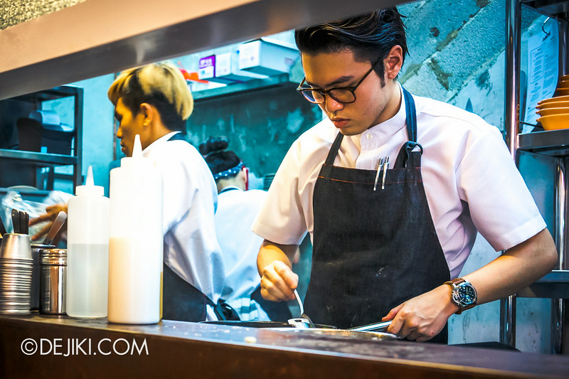 Sin Lee Foods - Chef Sean Lim in action