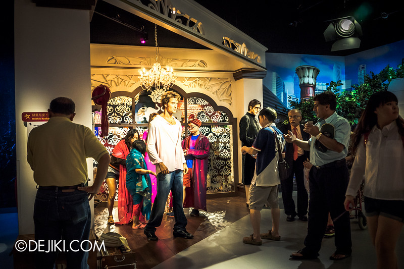 Madame Tussauds Singapore - Bollywood Stars overview