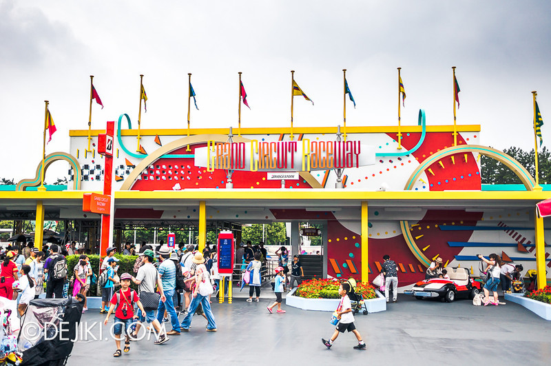 Tokyo Disneyland - Tomorrowland / Grand Circuit Highway Autopia
