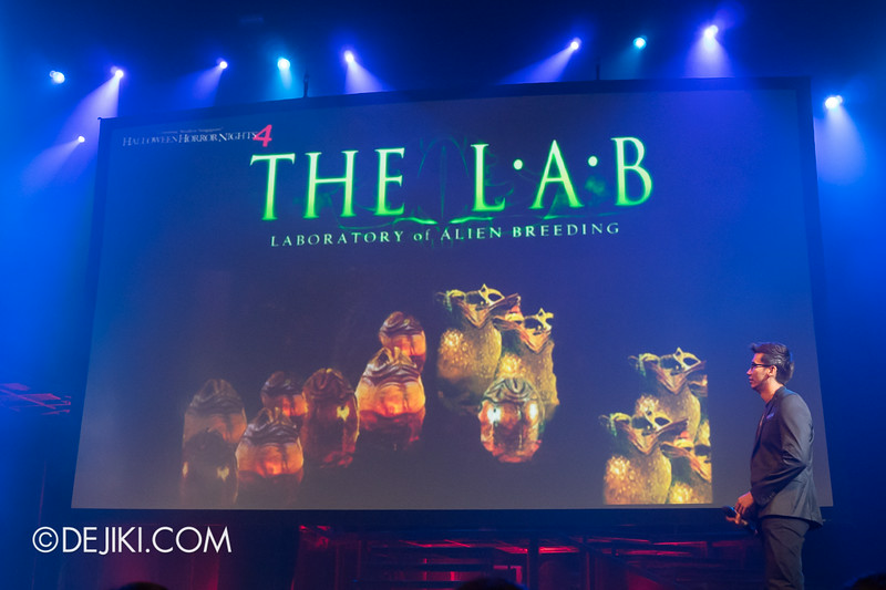 USS HHN4 Halloween Horror Nights 4 - Media Preview Launch event / THE L.A.B