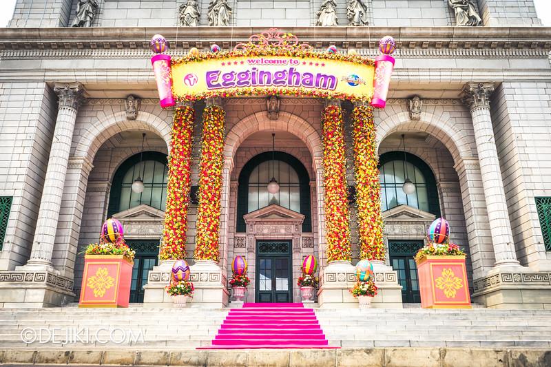 Universal Studios Singapore - Easter Eggstravaganza 2015 - Egghingham, New York 3