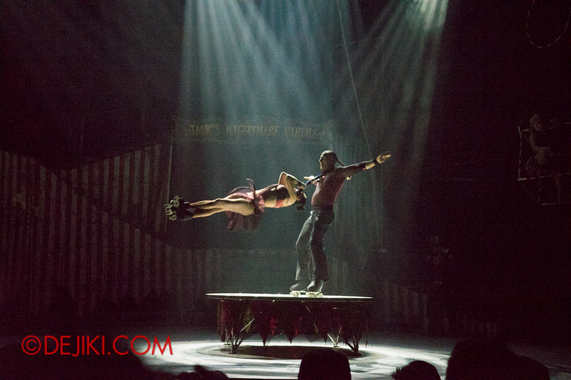 Halloween Horror Nights 4 - Jack's Nightmare Circus - Duo Skaters from Italy 7