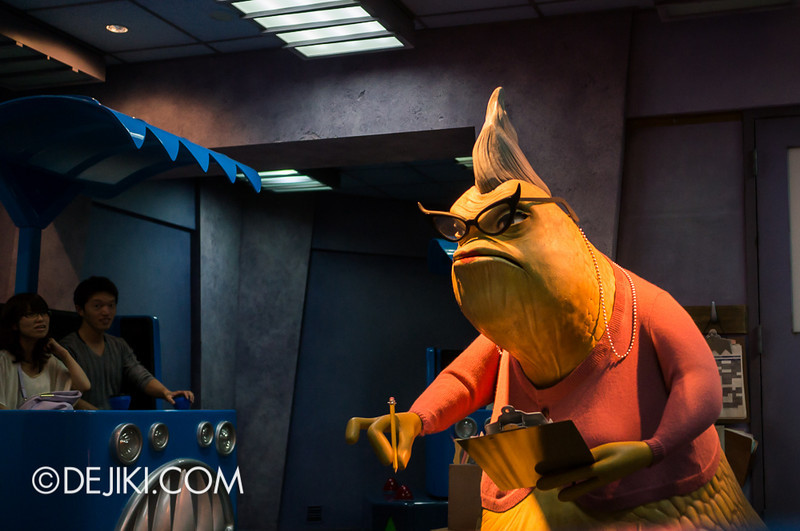 Monsters, Inc: Ride and Go Seek! on-ride experience 9