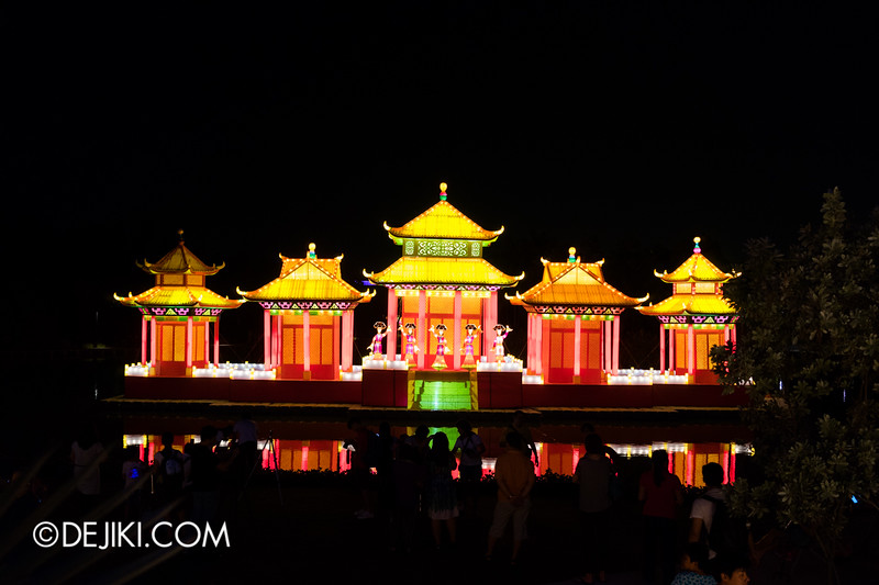 Gardens by the Bay - Mid-Autumn Festival at the Gardens 2014 - Ancient Chinese Palace 1