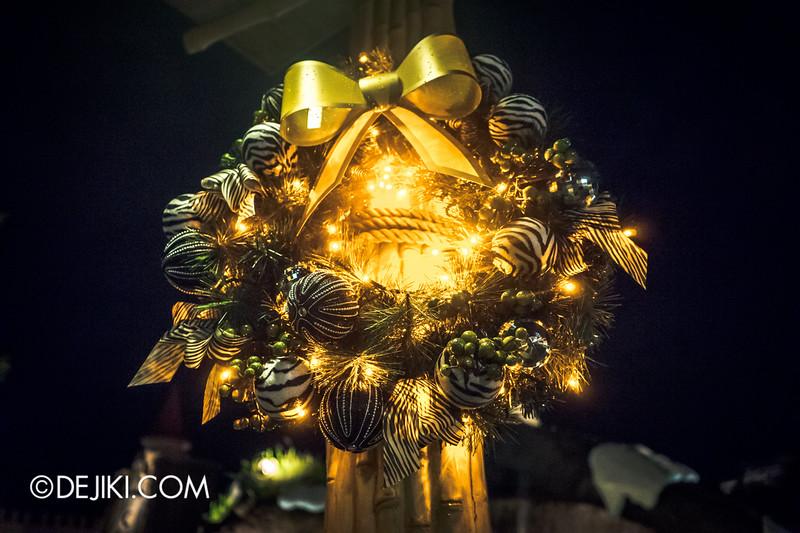 Universal Studios Singapore - Park Update December 2014 - Christmas at Santa's Land / Madagascar at Night 4
