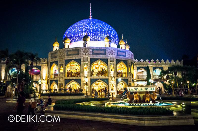 Arabian Coast at night - Caravan Carousel