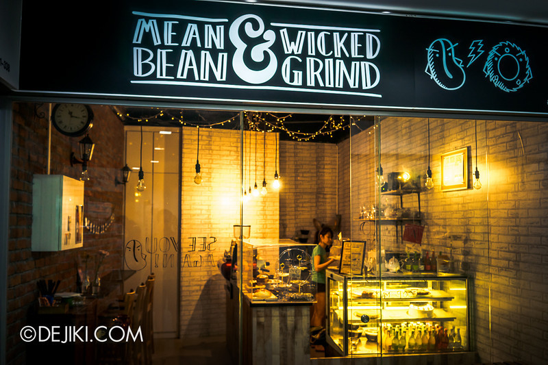 Mean Bean & Wicked Grind - 2 / Shop front