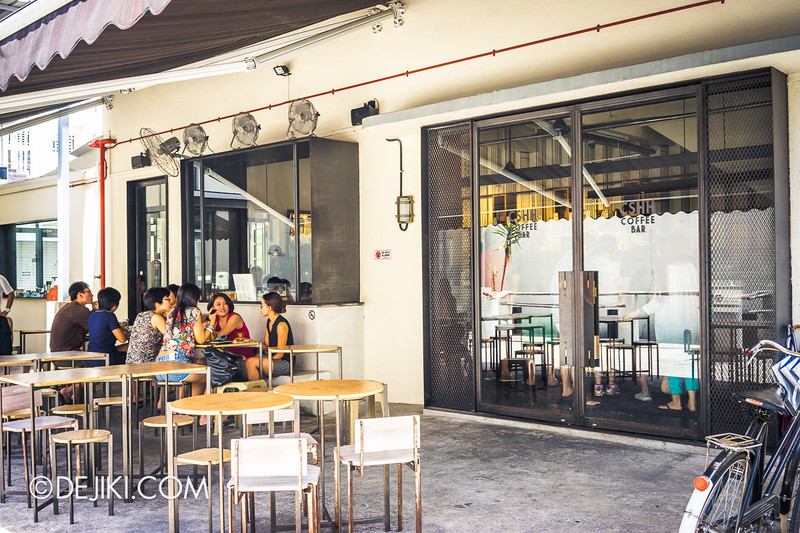 Chye Seng Huat Hardware Coffee Cafe Bar 2 - Side entrance
