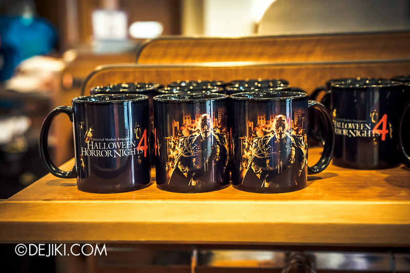 Universal Studios Singapore - Park Update August 2014 - Minister of Evil invades the Universal Studios Store / The Minister of Evil's Mug