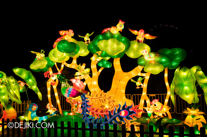Gardens by the Bay - Mid-Autumn Festival at the Gardens 2014 - Birds of Paradise 3