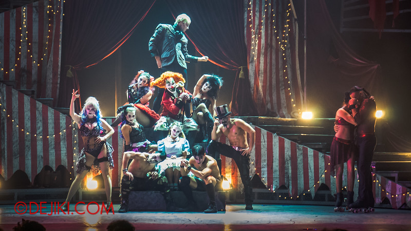 Halloween Horror Nights 4 - Jack's Nightmare Circus - Curtain Call