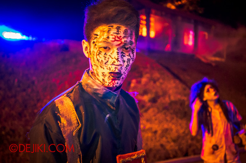 Sentosa Spooktacular - LADDALAND Scare zone roaming Scare Actors / Face of Words