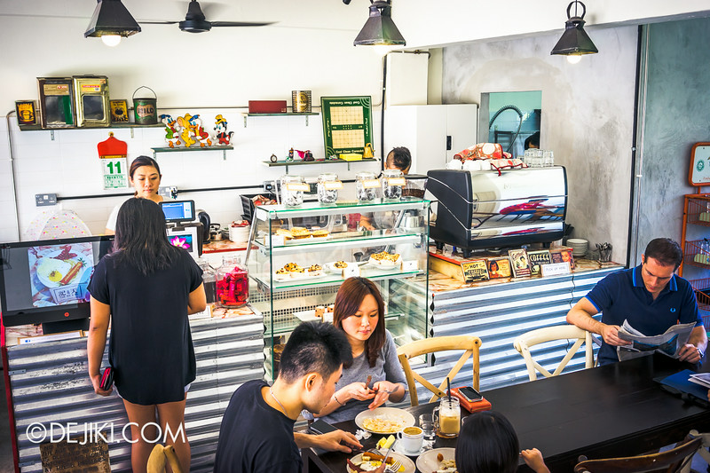 Tian Kee & Co. Cafe - Inside the Cafe
