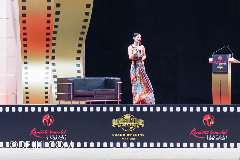 Universal Studios Singapore - Grand Opening 2011 - Denise Keller
