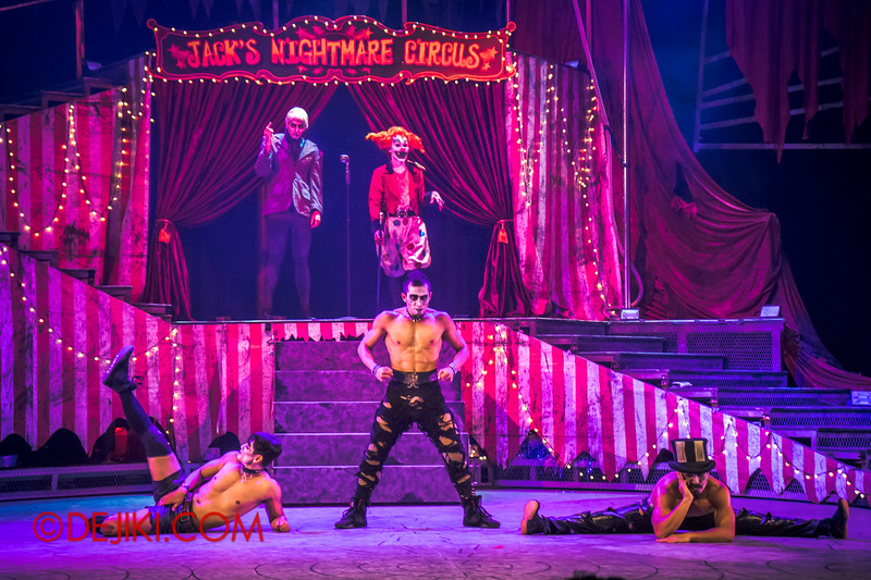 Halloween Horror Nights 4 - Jack's Nightmare Circus - Dance and Stunts