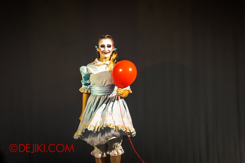 Halloween Horror Nights 4 - Jack's Nightmare Circus - The Girl