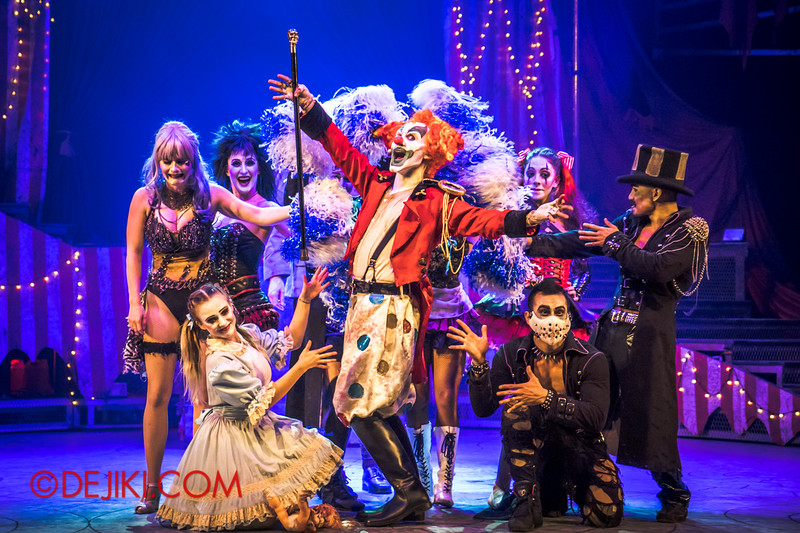 Halloween Horror Nights 4 - Jack's Nightmare Circus - Revealing the new star of the show.. Jack the Clown! 2