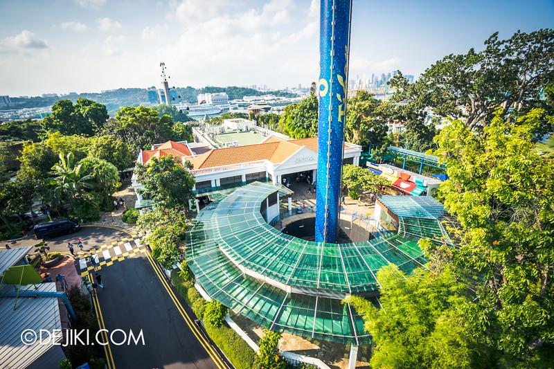 Singapore Cable Car Sky Network - Sentosa Line, Tiger Sky Tower