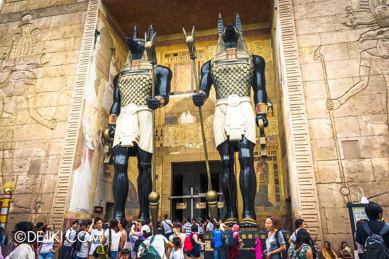 Universal Studios Singapore - Park Update December 2014 - Revenge of the Mummy reopened