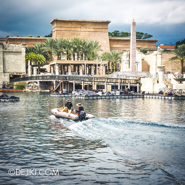Universal Studios Singapore - Park Update June 2014 - Pyrotechnics Preparations 2