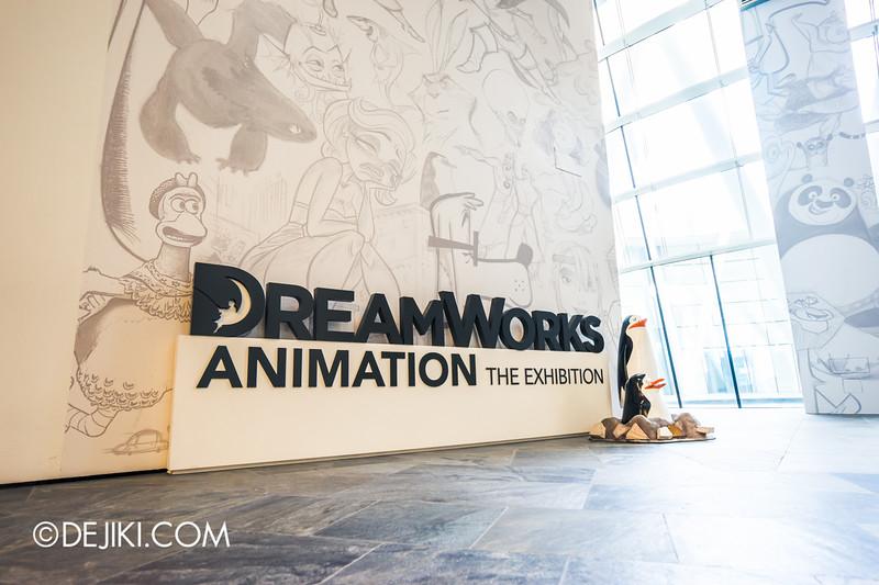 DreamWorks Animation: The Exhibition Singapore - Entrance