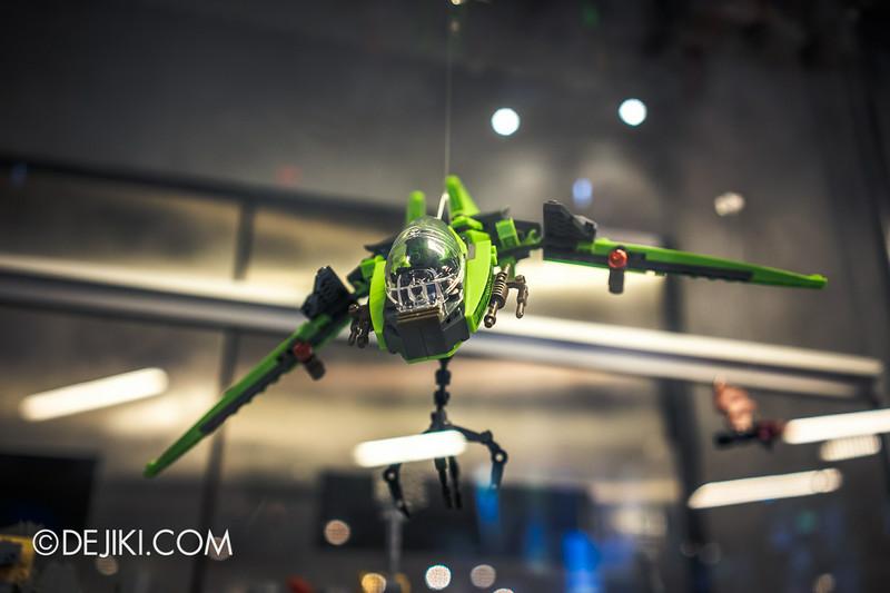 Universal Studios Singapore - Park Update July 2014 - Transformers Sci-Fi City KRE-O Diorama at Transformers Supply Vault 8