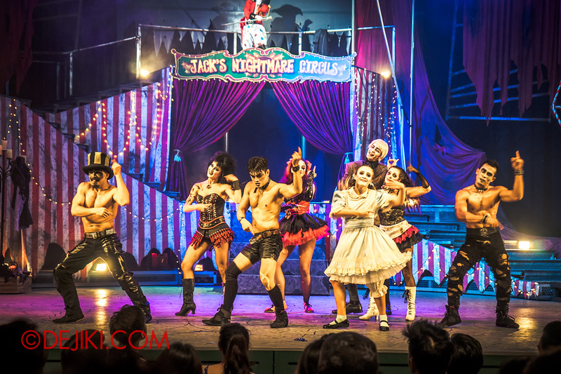Halloween Horror Nights 4 - Jack's Nightmare Circus - Grand Finale 9