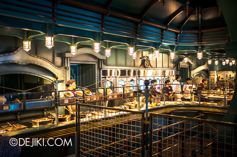 Mysterious Island - Vulcania Restaurant 9