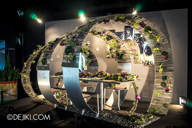 Singapore Garden Festival 2014 at Gardens by the Bay - Celebrations! Floral Table Settings