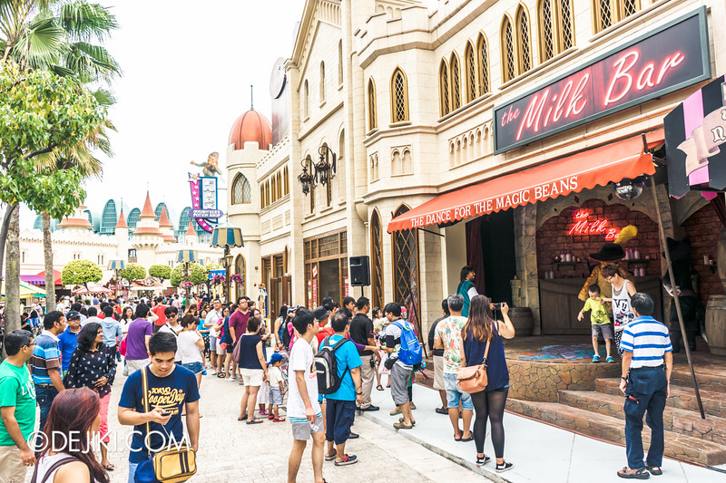 Universal Studios Singapore - Park Update September 2014 - The Dance for the Magic Beans - Postshow Photography 2