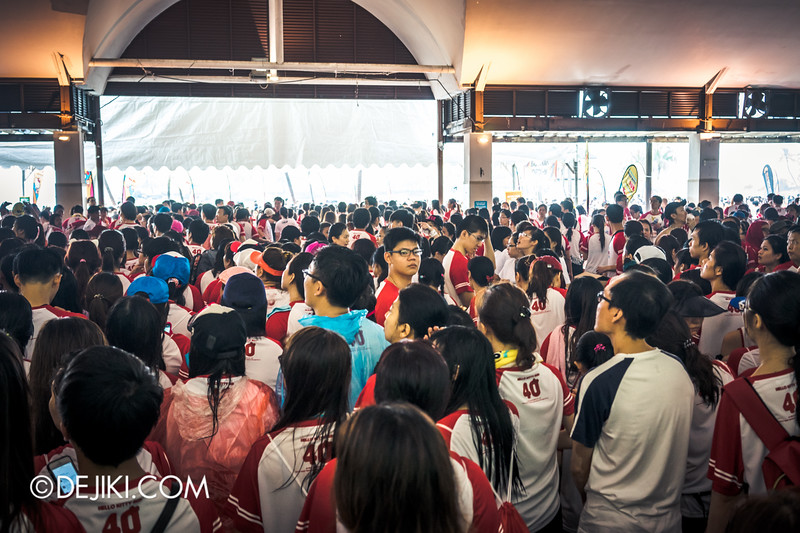 Hello Kitty Run Singapore - Mayhem at Medal collection
