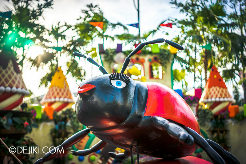 Singapore Garden Festival 2014 at Gardens by the Bay - Ms Ladybug