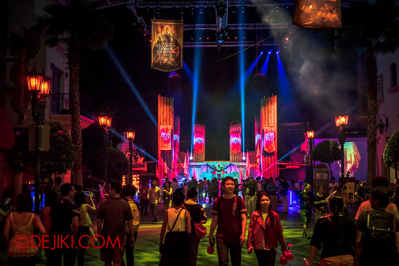 Universal Studios Singapore - Halloween Horror Nights 4 - Hollywood Boulevard