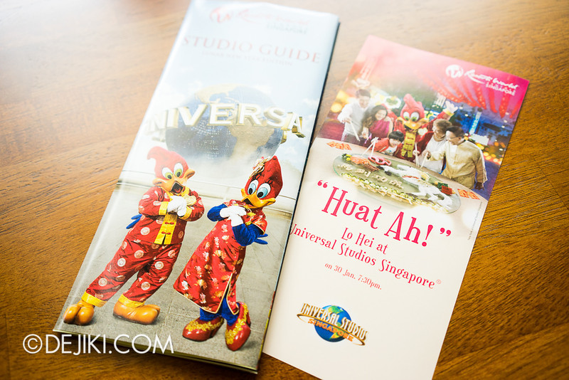 Universal Studios Singapore - Park Guide, Lunar New Year edition