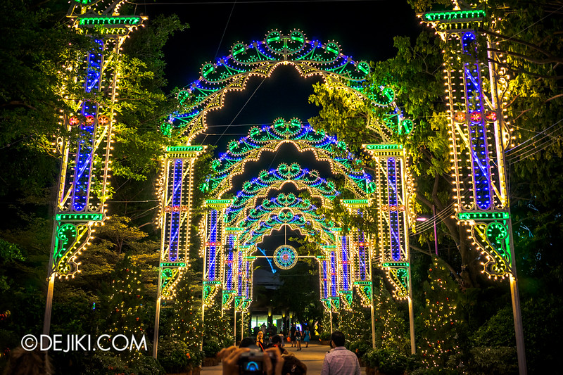 Gardens by the Bay - Winter Wonderland 2014 - Luminaries 1