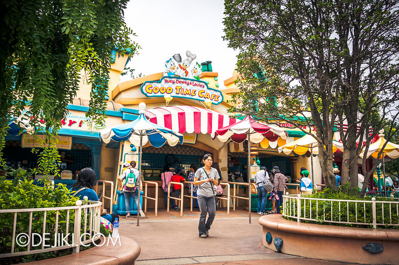 ToonTown - Huey, Dewey and Louie's Good Time Cafe