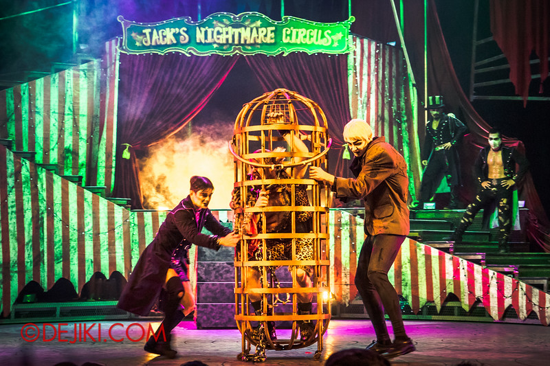 Halloween Horror Nights 4 - Jack's Nightmare Circus - The Animal / The Great Gordo Gamsby, an extreme stunt specialist