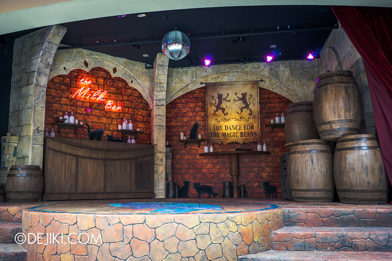 Universal Studios Singapore - Park Update September 2014 - The Dance for the Magic Beans Stage 2