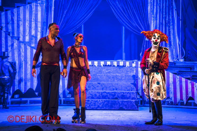 Halloween Horror Nights 4 - Jack's Nightmare Circus - Duo Skaters from Italy 1
