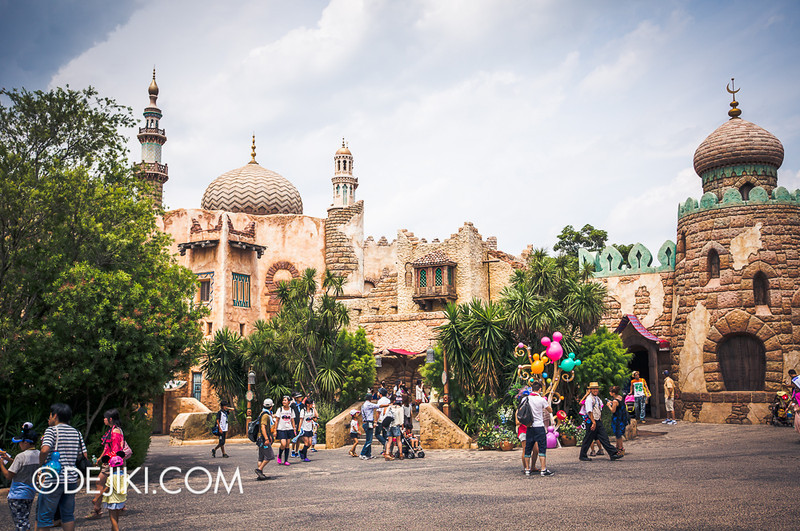 Arabian Coast - City outskirts