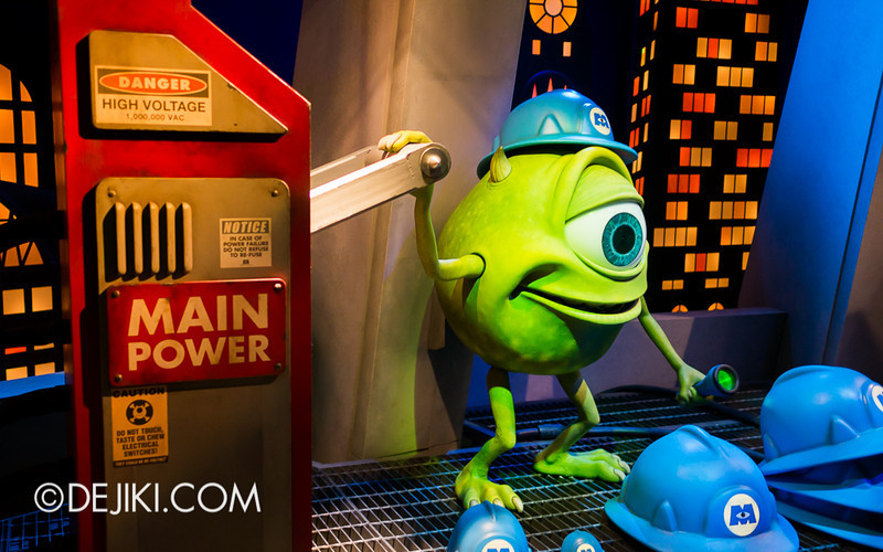 Monsters, Inc: Ride and Go Seek! on-ride experience 2