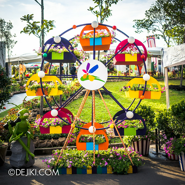 Singapore Garden Festival 2014 at Gardens by the Bay - Ferris Wheel