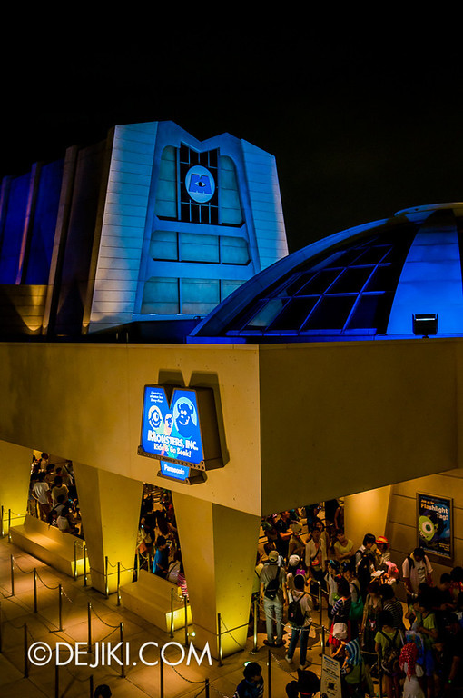 Monsters, Inc: Ride and Go Seek! building exterior 3