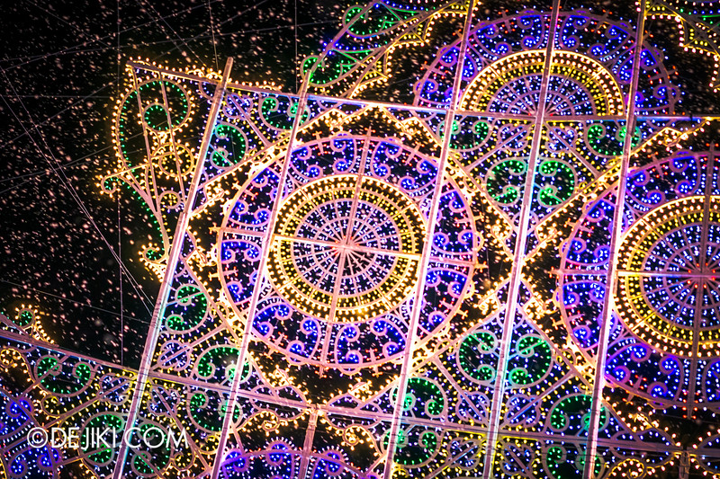 Gardens by the Bay - Winter Wonderland 2014 - Luminaries - The Spalliera Blizzard 2