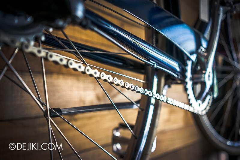 Carry On Cafe 18 - Bicycle Details