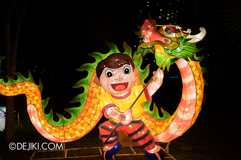 Gardens by the Bay - Mid-Autumn Festival at the Gardens 2014 - Lantern displays 3