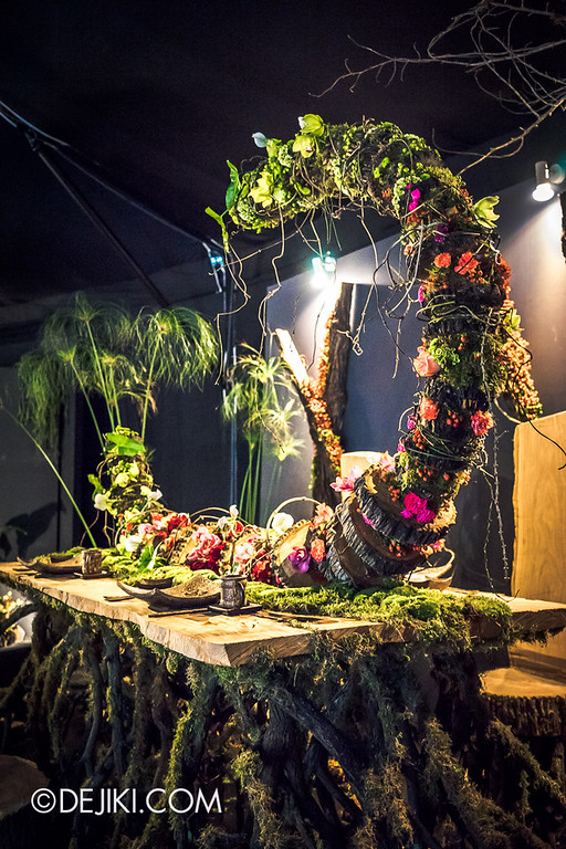 Singapore Garden Festival 2014 at Gardens by the Bay - Celebrations! Floral Table Settings 2